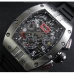 人気腕時計リシャール・ミルフェリペ・マッサAsian 7750搭載 28800振動 スーパーコピー