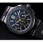 ブルガリ時計コピー通販ディアゴノ・ウルトラネロ クロノグラフ DG42BBSCVDCH