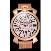 GaGa MILANO ガガミラノ スーパーコピー SLIM 46MM 5081.L.E.HO.1 コピー 時計