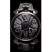 GaGa MILANO ガガミラノ スーパーコピー SLIM 46MM - ブラックPVD 時計 ユニセックス 5086.2