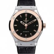 HUBLOTスーパーコピー腕時計クラシックチタニウム キングゴールド542.NO.1180.LR