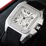 ブランド CARTIERカルティエ時計コピー サントス100クロノ W20090X8