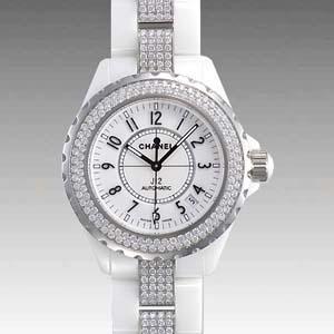 39e5adb3961d 偽物CHANELシャネル時計 ホワイトセラミックJ12 38 H1422 スーパーコピー