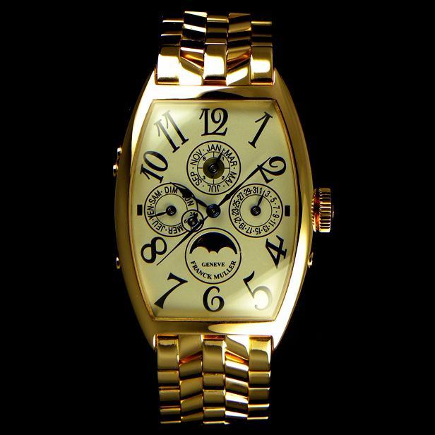5850QP24 Goldスーパーコピー時計