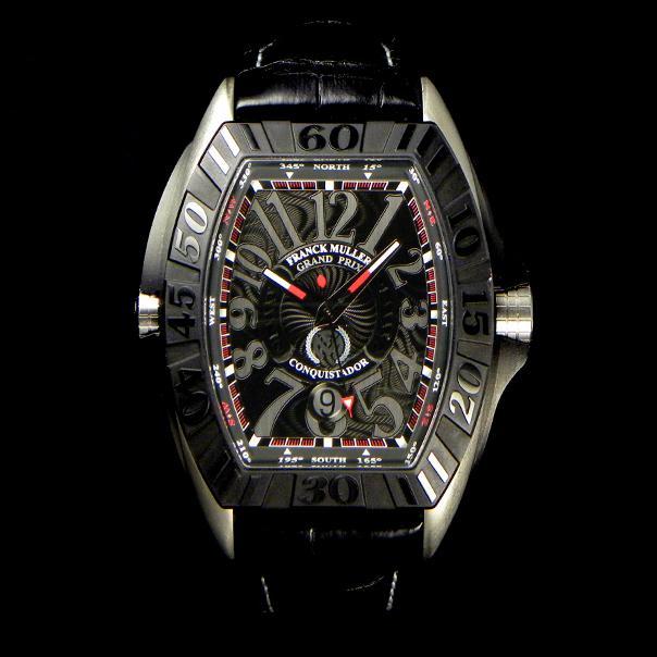 the best attitude 110a1 c8458 FRANCK MULLER フランクミュラー 時計 偽物 コンキスタドールグランプリ チタン 8900SCJ スーパーコピー