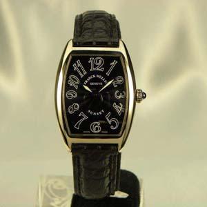1752QZSUN Blackスーパーコピー時計