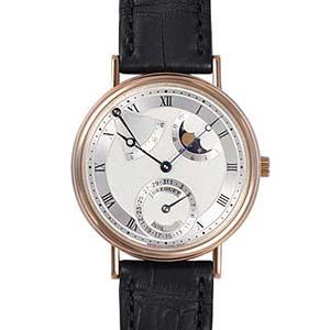 best service a6cad d568d ブレゲ 時計人気 Breguet 腕時計 クラシック パワーリザーブ ムーンフェイズ 3137BR/11 スーパーコピー